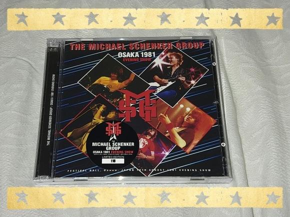 THE MICHAEL SCHENKER GROUP / OSAKA 1981 EVENING SHOW_b0042308_14371465.jpg