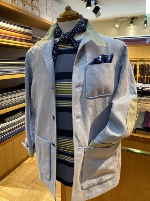 """""""ORLEANS"""" FOR SUMMER BY USING IRISH LINEN FROM """"EMBLEM"""" ,FABRIC MADE IN IRELAND_d0155468_15371694.jpeg"""