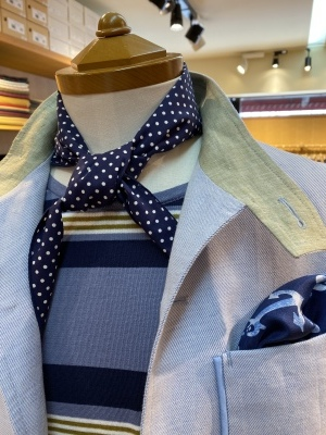 """""""ORLEANS"""" FOR SUMMER BY USING IRISH LINEN FROM """"EMBLEM"""" ,FABRIC MADE IN IRELAND_d0155468_15394265.jpeg"""