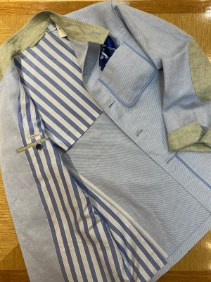 """""""ORLEANS"""" FOR SUMMER BY USING IRISH LINEN FROM """"EMBLEM"""" ,FABRIC MADE IN IRELAND_d0155468_15414849.jpeg"""