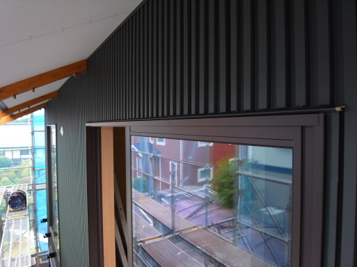千波の家 外壁工事-1 2021/6/23_a0039934_15102016.jpg