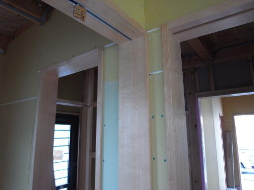 千波の家 外壁工事-1 2021/6/23_a0039934_15105532.jpg