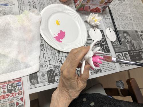 粘土工作教室 睡蓮を作ろう_f0395434_16151659.jpeg