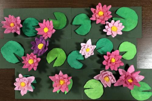 粘土工作教室 睡蓮を作ろう_f0395434_16161042.jpeg