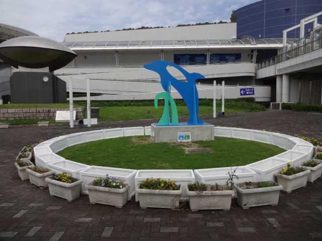 名古屋港水族館前のプランター花壇の管理をはじめました!_d0338682_08244465.jpg