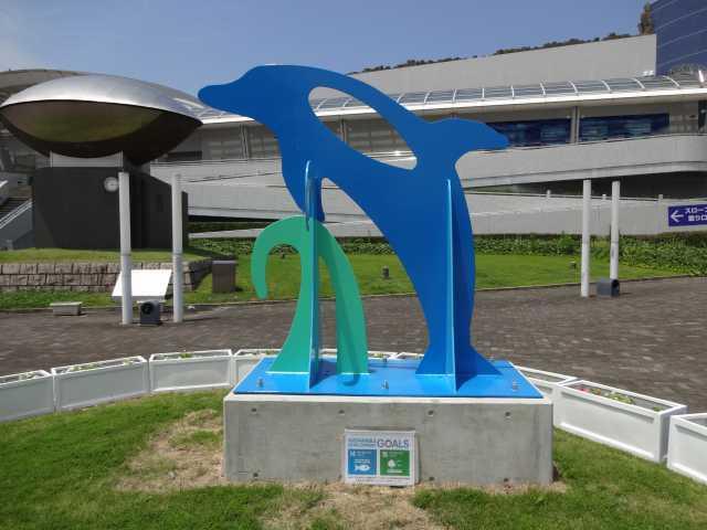 名古屋港水族館前のプランター花壇の管理をはじめました!_d0338682_08315129.jpg