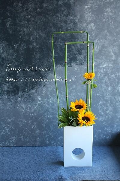 定期装花から サンリッチup_a0085317_16111119.jpg