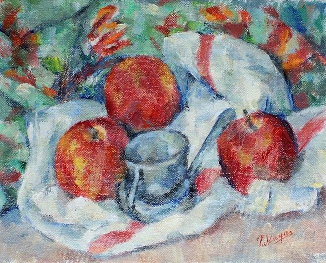 リンゴとパスワール_c0236929_01523220.jpg