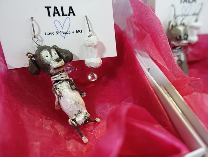 ゆらゆらワンコやニャンコのアクセサリーも!【TALA'S ART WORKS 2021〜ESPOIR】_a0017350_06332928.jpg