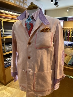 """""""ORLEANS"""" FOR SUMMER BY USING IRISH LINEN FROM """"EMBLEM"""", FABRIC MADE IN IRELAND 2_d0155468_14030374.jpeg"""