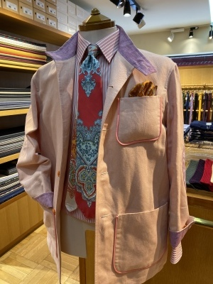 """""""ORLEANS"""" FOR SUMMER BY USING IRISH LINEN FROM """"EMBLEM"""", FABRIC MADE IN IRELAND 2_d0155468_14032394.jpeg"""