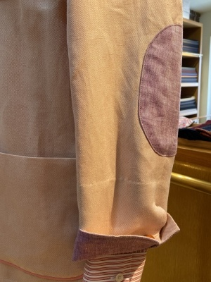 """""""ORLEANS"""" FOR SUMMER BY USING IRISH LINEN FROM """"EMBLEM"""", FABRIC MADE IN IRELAND 2_d0155468_14065791.jpeg"""