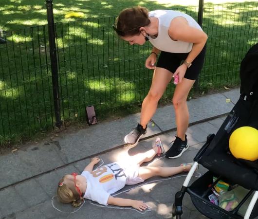 ニューヨークの公園の遊び方_b0007805_21292486.jpg