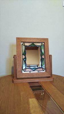 角度が変えれる鏡用の台_d0165772_21002945.jpg