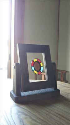 角度が変えれる鏡用の台_d0165772_21010005.jpg