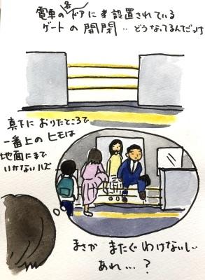電車の転落防止ゲートってどうやって開くんだっけ?_f0072976_16171949.jpeg