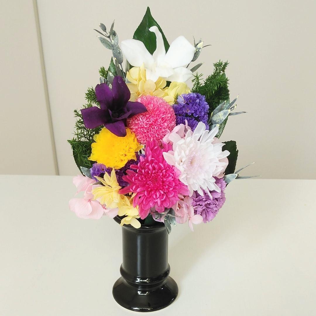 プリザで仏花!夏におすすめです!_c0182100_11261140.jpg