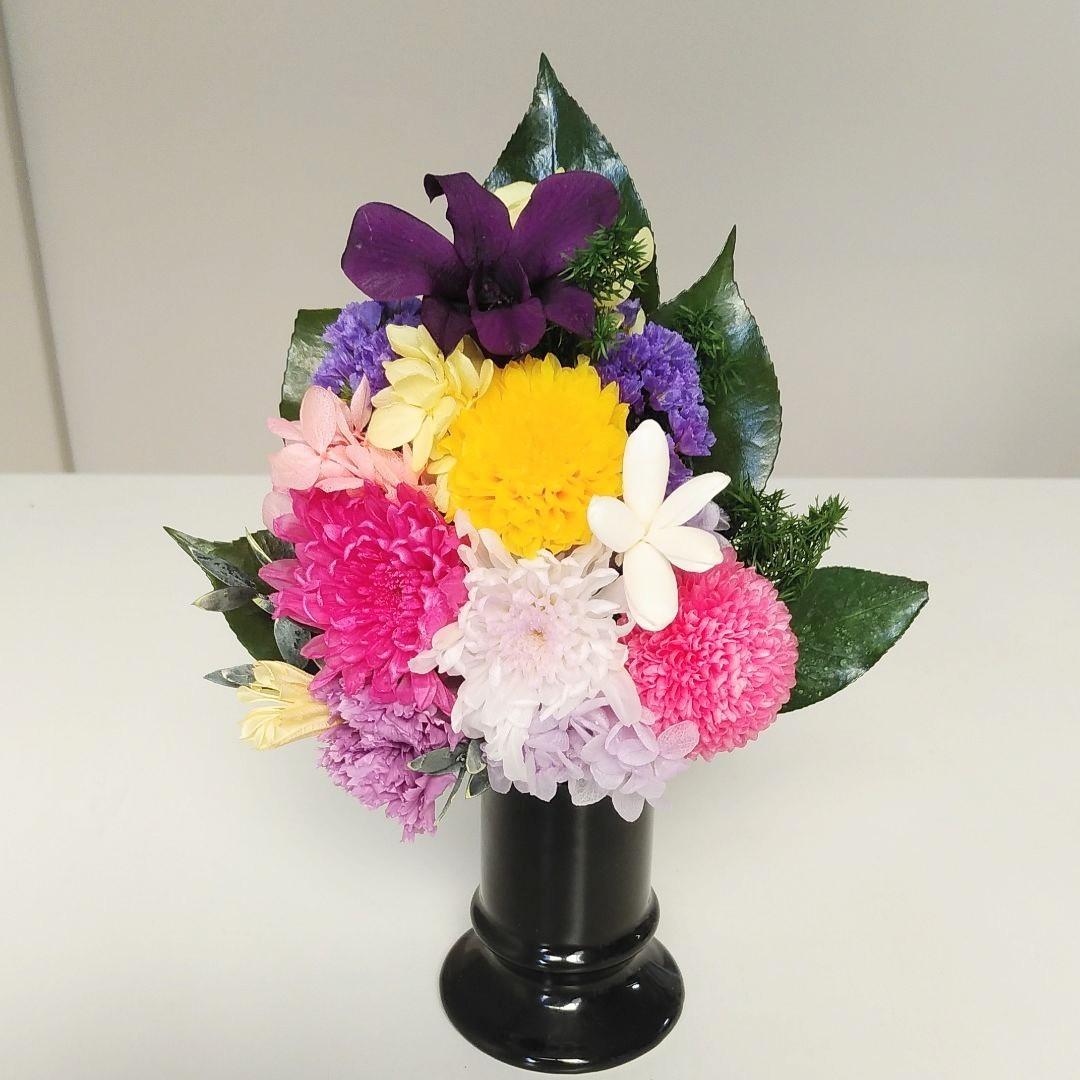 プリザで仏花!夏におすすめです!_c0182100_11262623.jpg