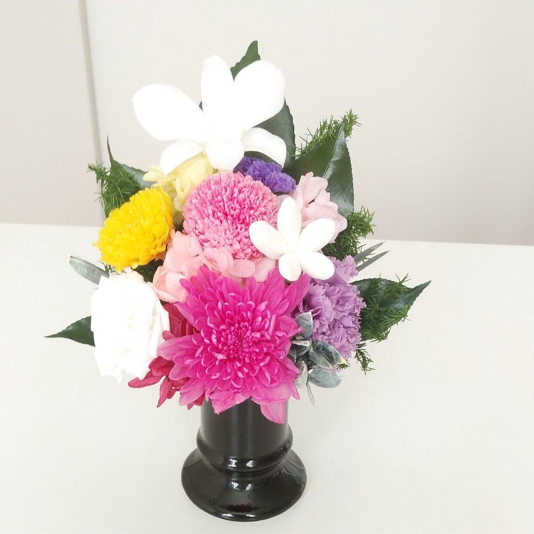 プリザで仏花!夏におすすめです!_c0182100_11263591.jpg