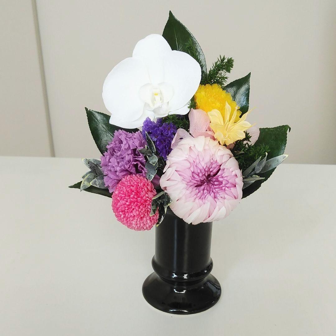 プリザで仏花!夏におすすめです!_c0182100_11264389.jpg