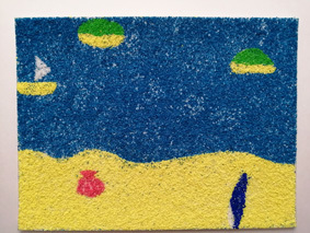 6月から再開♪砂で遊んだよ_c0356208_13065812.jpg