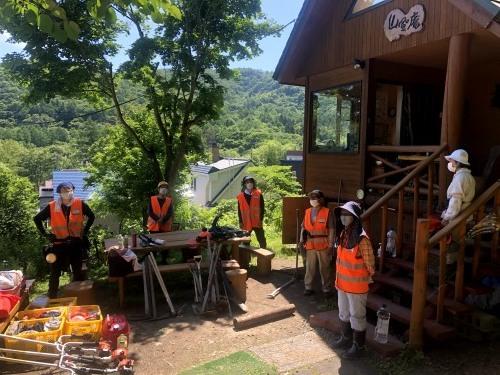 6/27(日) 高川山林 笹刈り、作業道づくり_c0173813_10324405.jpg