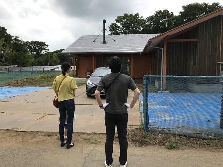 土間リビングと薪ストーブの家、見学会を開催しました。_a0059217_21380548.jpg