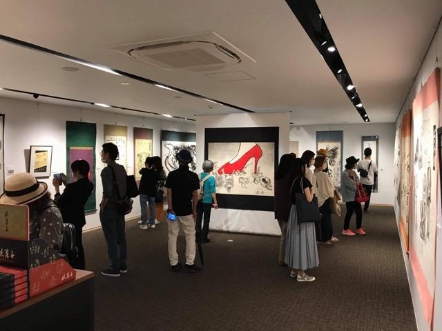 約1ヶ月の奈良個展終了!_b0405445_09041928.jpg