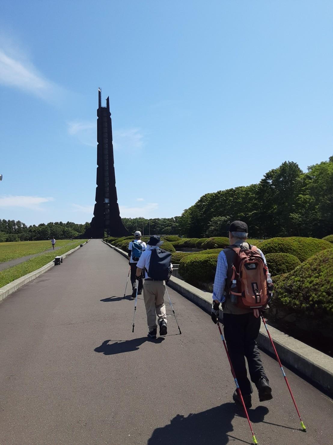 ノルディックウォーキングイベント2021 @野幌森林公園_d0198793_00232022.jpg
