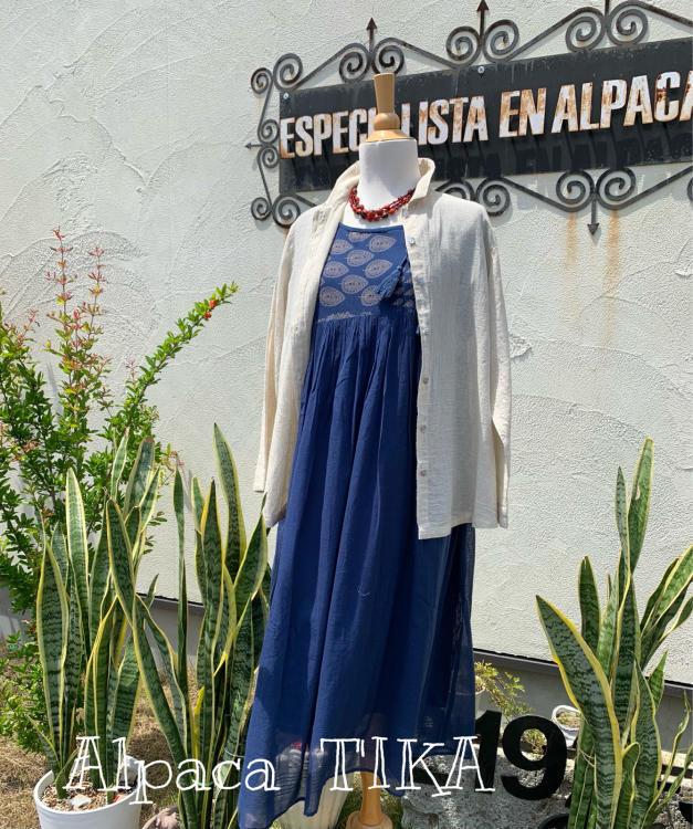 布のお洋服が一部商品SALEとなりました!夏本番にオススメ・コットンワンピース_d0187468_12400049.jpg
