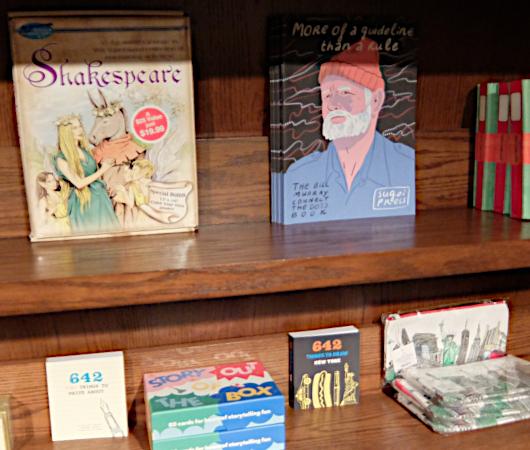 Drama Book Shopのクリエイティビティ(創造力)を刺激する本のコーナー_b0007805_20145828.jpg