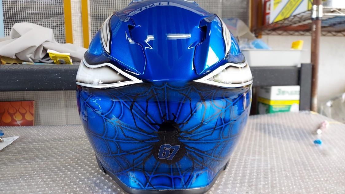 Helmet CustomPaint_e0269313_18500949.jpg