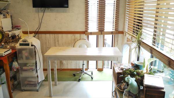 ネイルサロンさまの施術用テーブル_d0165772_21441249.jpg