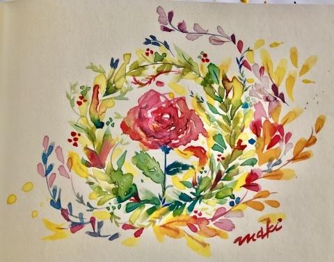 「水彩絵の具を使って絵を描こう!」大野城まどかぴあ生涯学習センター_e0165000_23293465.jpeg