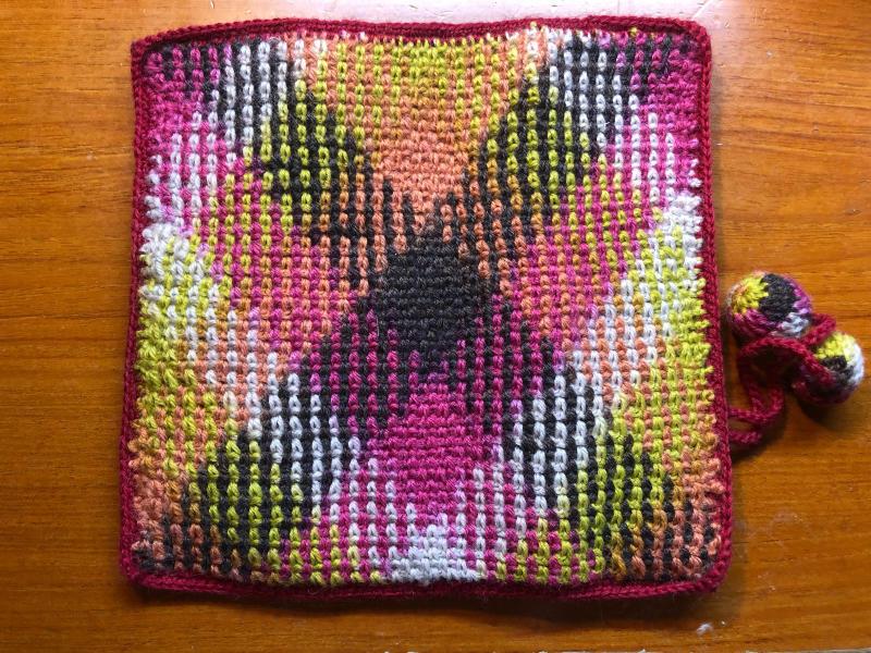 ハマナカ コロポックルのプランドプーリングで編み針入れ_d0138054_18082641.jpg