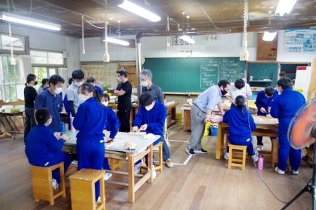 森林レボリューション計画=村立天竜中学校_f0114346_08412840.jpg