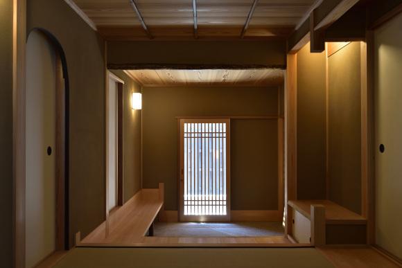 数寄屋門・塀 新築工事―その2_e0164563_10500307.jpg