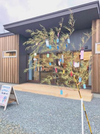『七夕だよ!笹に願いを!』 奥州いえ博 伸和ハウス展示場で開催中!_e0150787_11222222.jpg