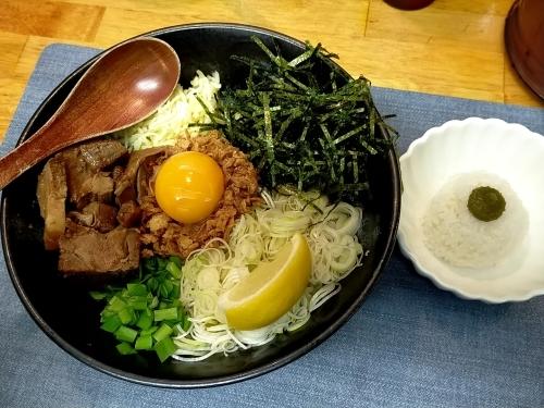 天満橋「麺屋あげは」まぜそばを食べてけっこう感動_c0403415_15500578.jpg