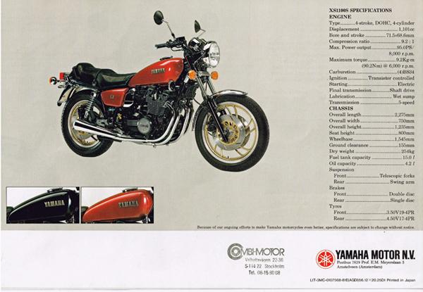 ヤマハ XS1100の系譜 & ミッドナイトスペシャルシリーズ_a0339187_20465804.jpg