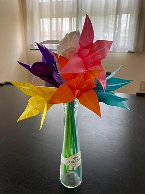 いけばなに続くは「折り紙展」_f0203094_10535612.jpg
