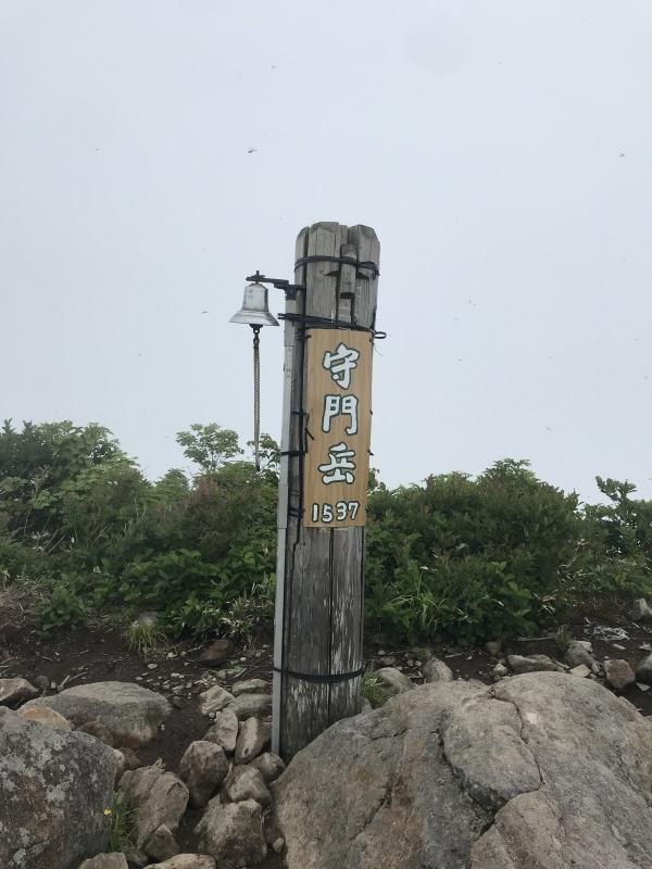 2021年7月3日、守門岳_b0037220_11063153.jpg
