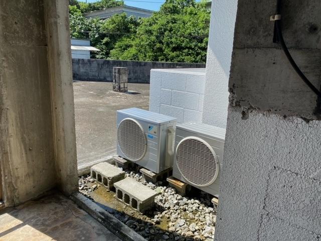 7月6日 民宿2階の干し場復活_b0158746_16104544.jpeg