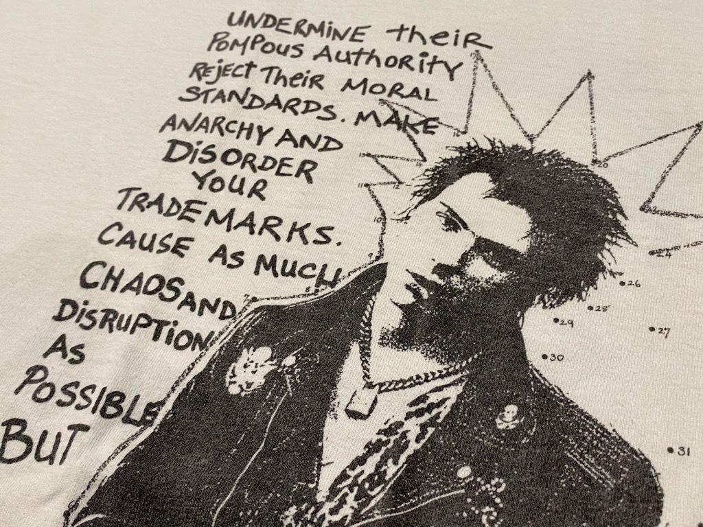 7月10日(土)大阪店スーペリア&ヴィンT入荷日‼ #6 1980s~USA Old T-Shirt編!!SID VICIOUS !!_c0078587_23082624.jpg