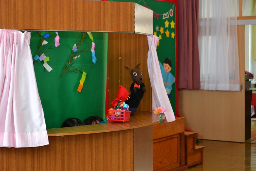 今日は第一幼稚園の「お誕生会」でした。_d0353789_14071428.jpg
