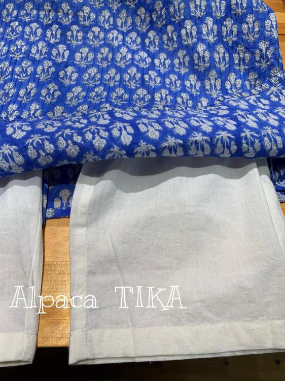 ピンタックのスカートパンツ 大人可愛くコットンシルクの三角スカート_d0187468_16150025.jpg