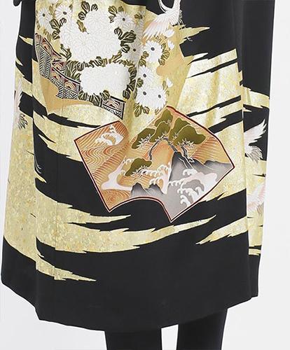 留袖の新しいスタイル☆黒留袖の和ドレス_b0098077_20252210.jpg