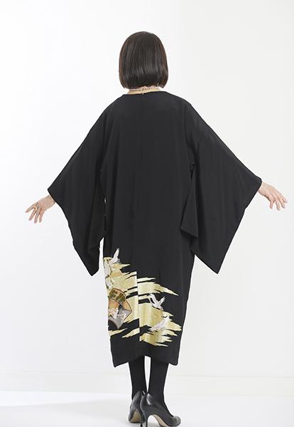 留袖の新しいスタイル☆黒留袖の和ドレス_b0098077_20252997.jpg