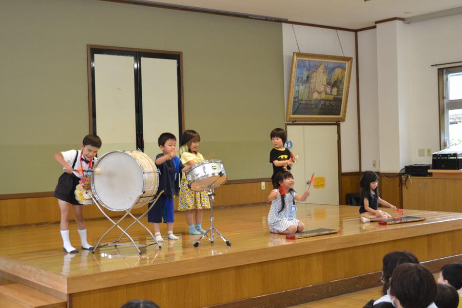 今日は、上宮第二幼稚園の「お誕生会」でした。_d0353789_15475141.jpg
