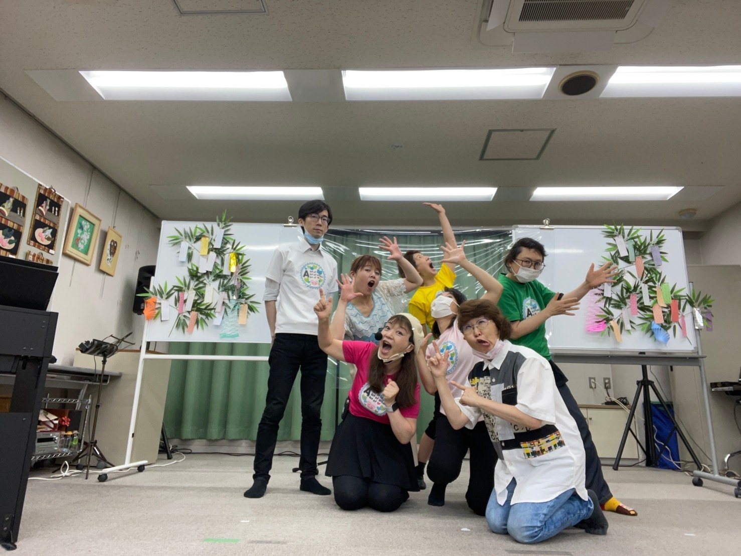 七夕祭り🎋の本番_a0163623_09564197.jpg